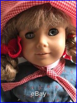 American Girl Doll KIRSTEN 18 Retired LOT Doll. Accessories and Outfits