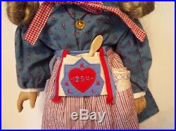 American Girl Doll KIRSTEN MEET OUTFIT +ACCESSORIES Book BOXRETIRED-PLEASANT CO