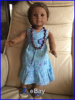 American Girl Doll Kanani 2011 Doll Of The Year In Original Outfit Euc