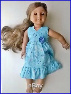 American Girl Doll Kanani 2011 GOY w Meet Outfit, Hair Brush, Book, Flower Lei
