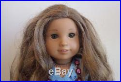 American Girl Doll Kanani 2011 In Meet Outfit Necklace Shoes Dress Hairbrush EUC