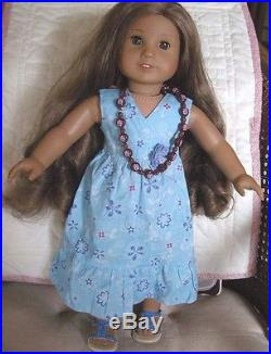 American Girl Doll Kanani Doll of the year 2011 BEAUTIFUL HAIR + 2 outfits