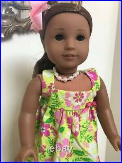 American Girl Doll Kanani GOTY 2011 with Book & Outfits