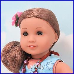 American Girl Doll Kanani New Head & Limbs Meet Outfit + Box + Accessories