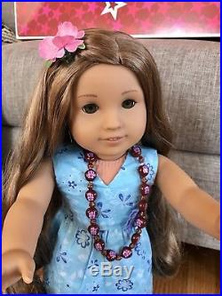 American Girl Doll Kanani with Complete Meet Outfit, Pierced Ears, Book&Box