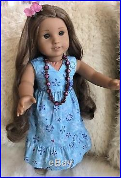 American Girl Doll Kanani with Complete Meet Outfit and Pierced Ears