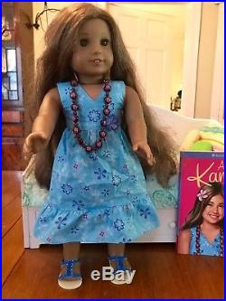 American Girl Doll Kanani with welcome outfit and book