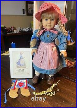 American Girl Doll Kirsten (1986) EUC 3 Outfits & Accessories