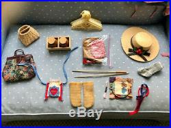 American Girl Doll Kirsten & 5 sets of outfits, excellent condition, circa 1996