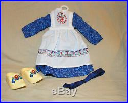 American Girl Doll Kirsten Baking Outfit Retired