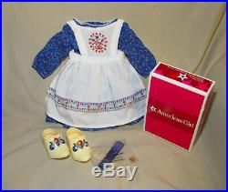 American Girl Doll Kirsten Baking Outfit With Ribbons Retired FREE SHIPPING