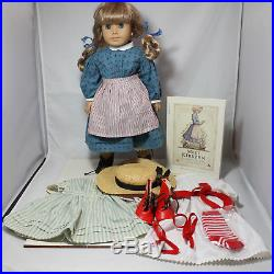 American Girl Doll, Kirsten Larson with 3 Outfits and Book, witho box