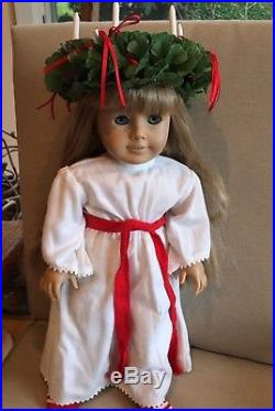 American Girl Doll Kirsten Larsons 2 Historical Outfits + Accessories, Retired