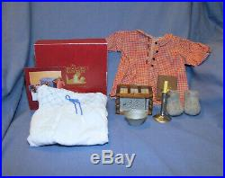 American Girl Doll Kirsten Nighttime Necessities Nightgown Housecoat Outfit