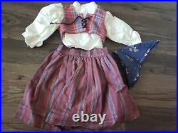 American Girl Doll Kirsten Pleasant Company with Spring and Original Outfits