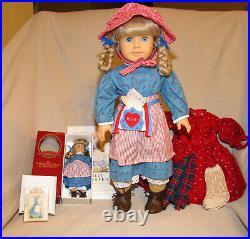 American Girl Doll Kirsten Plus Mini Doll School Outfit Retired Pleasant Company