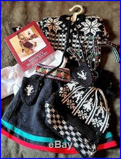 American Girl Doll Kirsten Winter Story Outfit 1989 Pleasant Co. Scandinavia