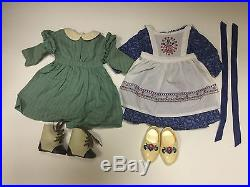 American Girl Doll Kirsten's RARE Outfit Haul Work Dress and Baking Outfit