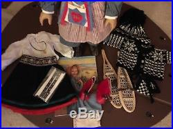 American Girl Doll Kirsten with 2 outfits and Snowshoes