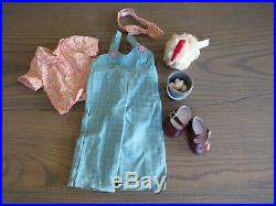 American Girl Doll Kit Chicken Keeping OutfitBonus eggs & Pail! Free ship