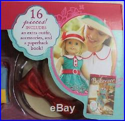 American Girl Doll Kit Kittredge NEW Deluxe Box Set Two Outfits Accessories