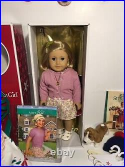 American Girl Doll Kit Kittredge With Outfits & Accessories Lot Excellent Con