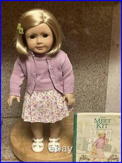 American Girl Doll Kit Kittredge with Original Meet Outfit Retired 2008
