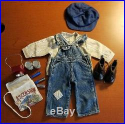 American Girl Doll Kit Overalls Outfit And Hobo Camp Supplies
