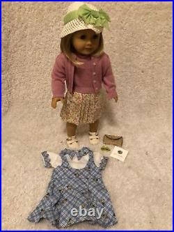 American Girl Doll Kit with Original Outfit, Extra Outfit, and Kit's Nickel