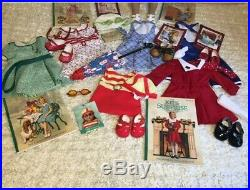 American Girl Doll Kit with Outfits & Accessories Lot EUC