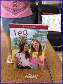 American Girl Doll Lea In Bahai Outfit With Book