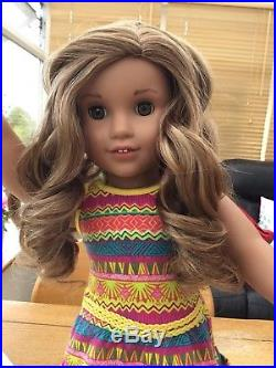 American Girl Doll Lea In Full Meet Outfit
