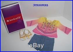 American Girl Doll Lea Lot Hike Outfit/accessories- Pajamas Set- Bahia Outfit