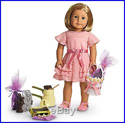 American Girl Doll Limited Edition Kit's Easter Outfit & Candy Making Set New