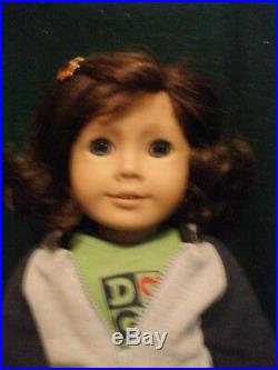 American Girl Doll Lindsey + Meet Outfit GOTY 2002