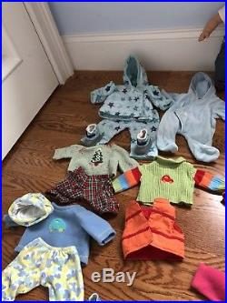 American Girl Doll Lot Bitty Baby Twins Boy & Girl Dolls With Multiple outfits