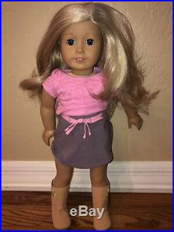 American Girl Doll Lot McKenna 2012 and 1 Truly Me- 10 outfits, 2 movies