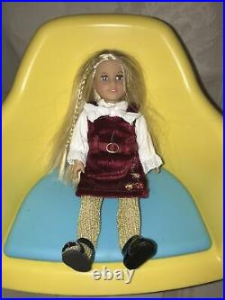 American Girl Doll Lot, Mini Julie, Many Accessories, Outfits, Table And Chairs