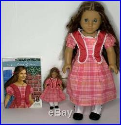 American Girl Doll Marie Grace 18 EUC Original Outfit Book Excellent