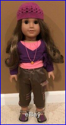American Girl Doll Marisol Luna Girl of the Year 2005 with Box & Original Outfit