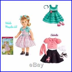 American Girl Doll Maryellen Doll with Poodle skirt outfit & Birthday Dress NEW