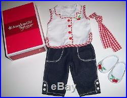 American Girl Doll Maryellen's 3 Outfits Poodle Skirt Set- Pajamas Play Outfit
