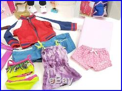 American Girl Doll McKenna 18 5 Outfits, Gymnastics Equipment And Accessories