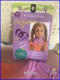 American Girl Doll McKenna 2012 Girl Of The Year with Book NIB and Warmup Outfit