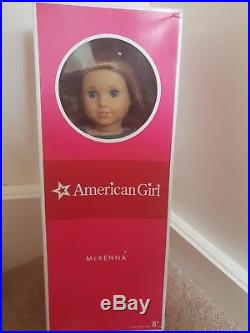 American Girl Doll McKenna In Box With Extra Outfits And Book