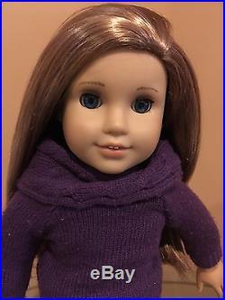American Girl Doll McKenna Lot EUC Doll, Pajamas, School Outfit Etc