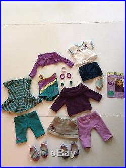 American Girl Doll Mckenna 2012 Girl of the Year with 4 outfits