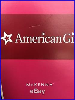 American Girl Doll Mckenna with Complete Meet Outfit, 2 Books and Box