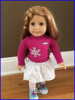 American Girl Doll Mia 2008 GOTY Huge Lot 5 Outfits/Bedroom DISPLAY ONLY