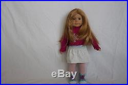 American Girl Doll Mia GOTY 2008 with origninal outfit plus pajamas